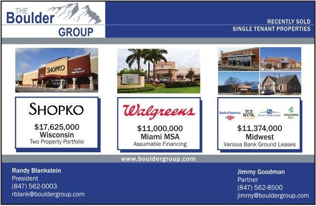 Sold net lease  properties