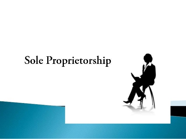   A sole proprietorship is a business established, owned, and controlled by a single person.    Sole proprietorships com...