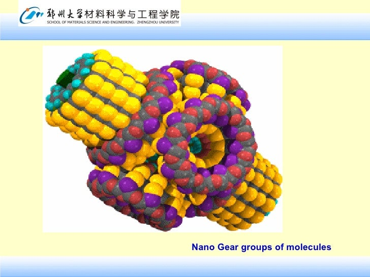 Nano Gear groups of molecules