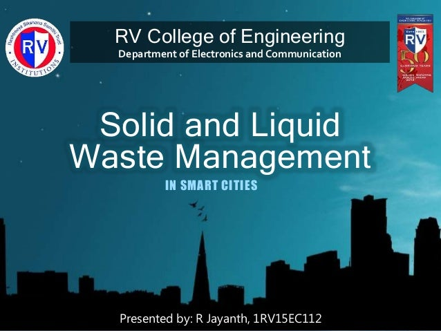 research on liquid waste management waste management is the collection, transport, processing, recycling or disposal, and monitoring of waste materials concern over environment is being seen a massive increase in recycling globally which has grown to be an important part of modern civilization.