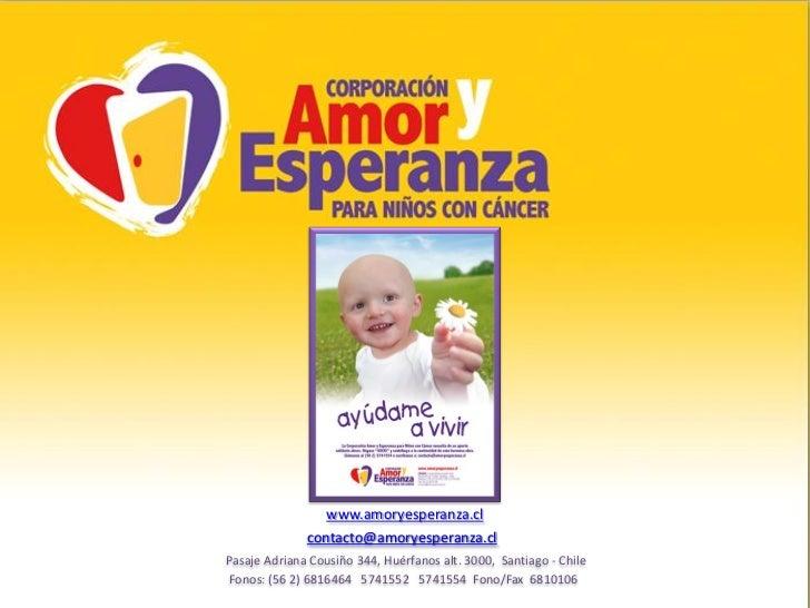 Solidaridad Amor y Esperanza_2011.