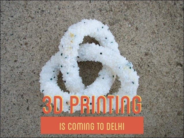 3D Printing 101 by Solidry - The Invite
