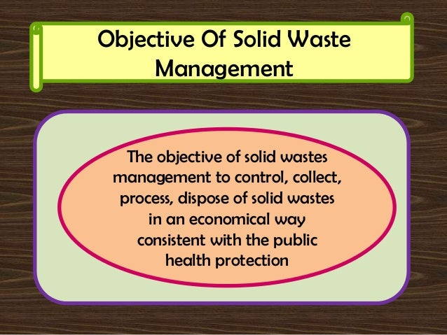 need for waste management essay The waste problem requires  efficient and effective waste management is best achieved at household  you can give it out to someone who has a need for it.