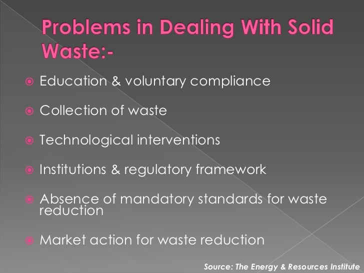 Solid waste management business plan