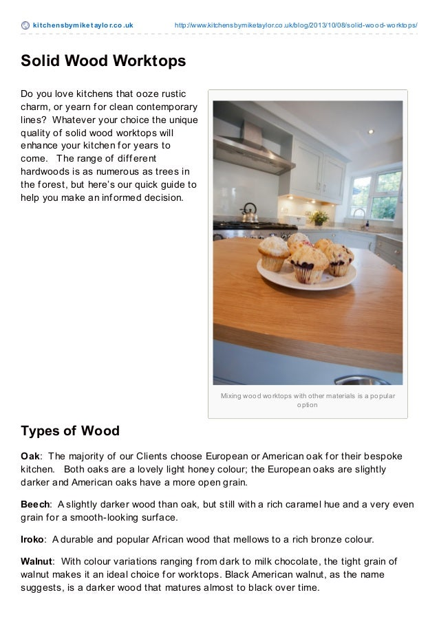 kit chensbymiket aylor.co.uk http://www.kitchensbymiketaylor.co.uk/blog/2013/10/08/solid-wood-worktops/ Mixing wood workto...