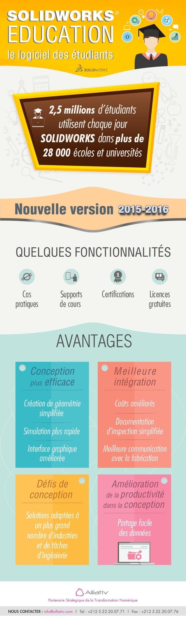 Partenaire Stratégique de la Transformation Numérique NOUS CONTACTER : info@alliativ.com | Tel : +212 5.22.20.07.71 | Fax ...