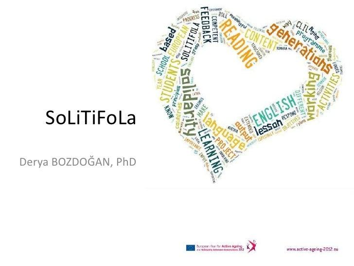 SoLiTiFoLaDerya BOZDOĞAN, PhD