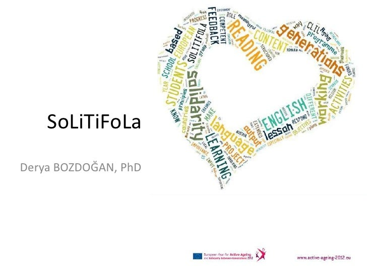 Solitifola: Solidarity between generations and active ageing