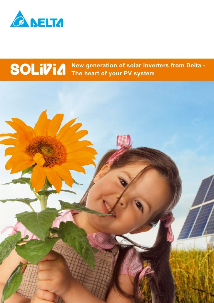 New generation of solar inverters from Delta -The heart of your PV system