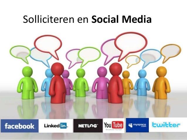 Solliciteren en Social Media