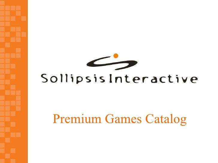 Premium Games Catalog
