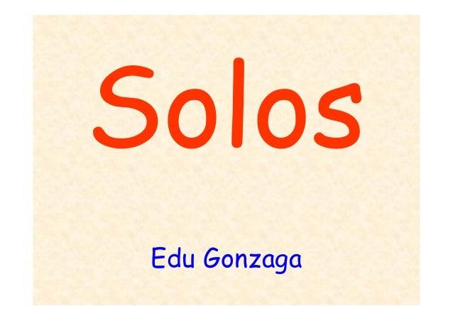 Pedologia / solo - Professor Edu Gonzaga 2013