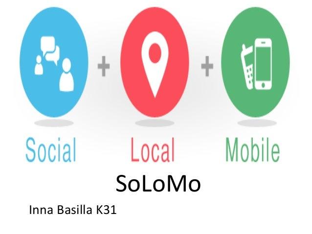 Solomo: A Marketing Revolution
