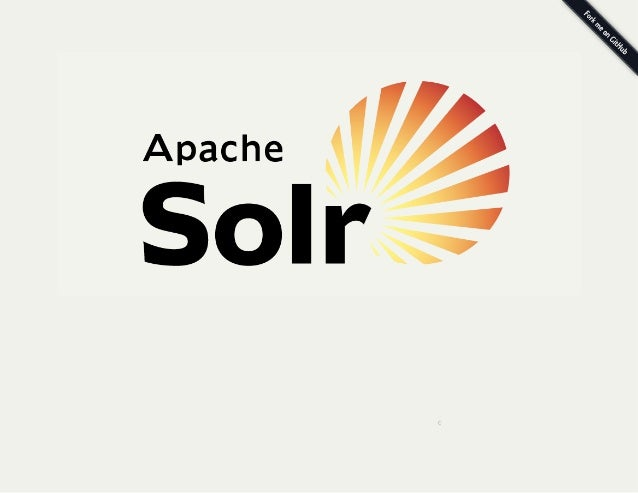 Solr overview presentation