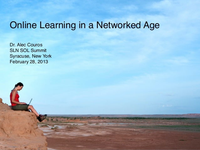 Online Learning in a Networked Age