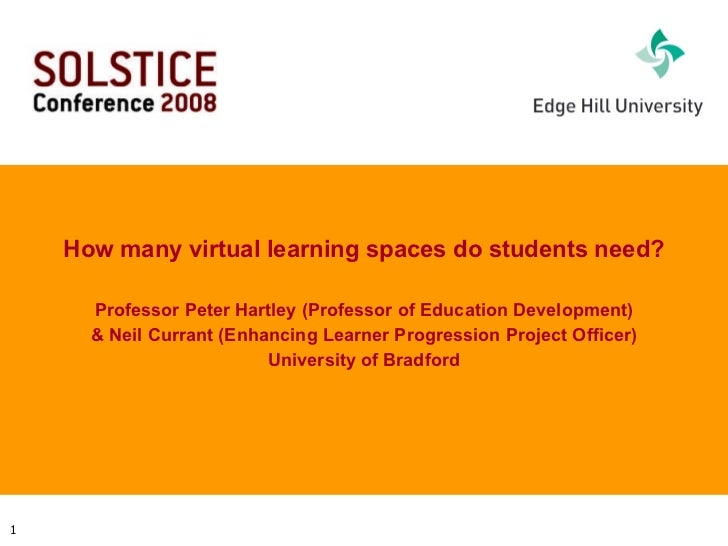 How many online spaces do students need?