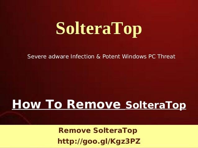 SolteraTop: Remove SolteraTop