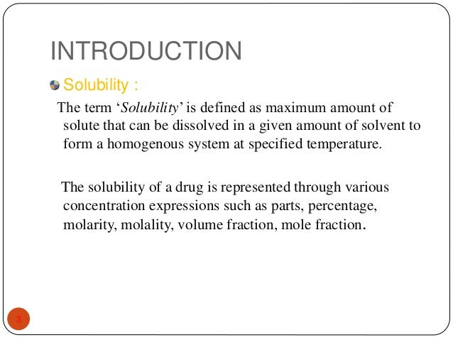 A Physical Property. A Definition of solubility: A measure of how ...