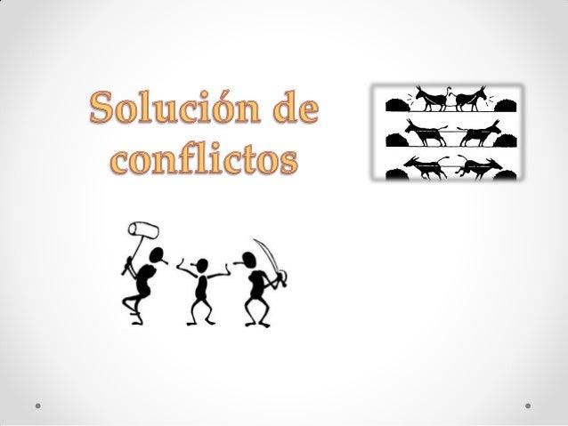 Solución de un conflicto