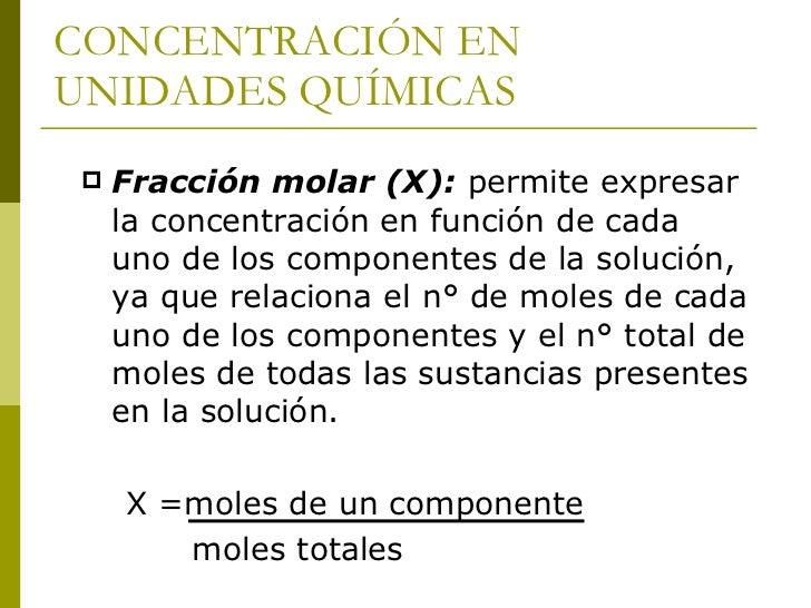 Ejemplo    Una solución gaseosa contiene 2g de helio     y 4g de oxígeno. ¿cuáles son las fracciones     molares de helio...
