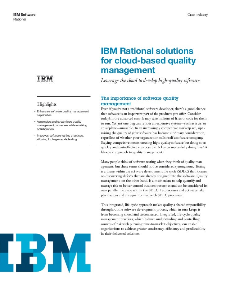 IBM Software                                                                                                        Cross-...