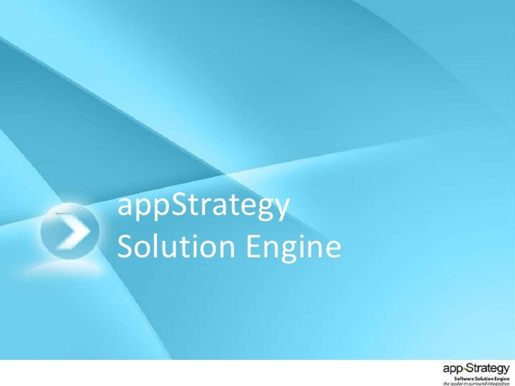 appStrategySolution Engine<br />