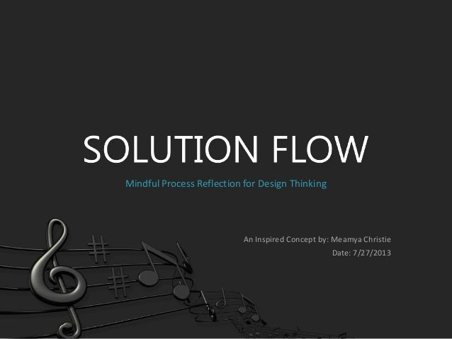 Solution Flow - Reflection for Design Thinking