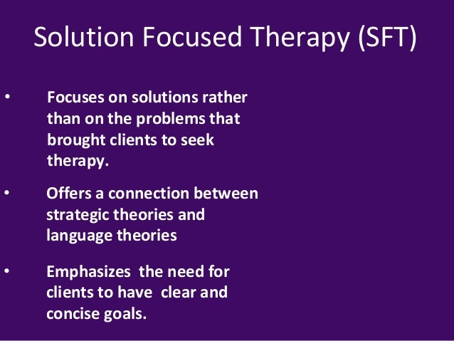 solution brief focused therapy analysis Solution-focused brief therapy: a review of the outcome research meta-analysis of solution-focused brief therapy for treating symptoms of internalizing.
