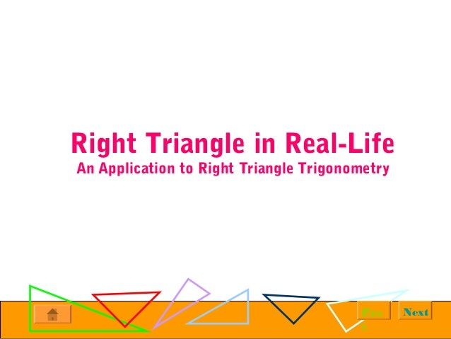 Acute Triangle Examples in Real Life Triangle in Real-life an