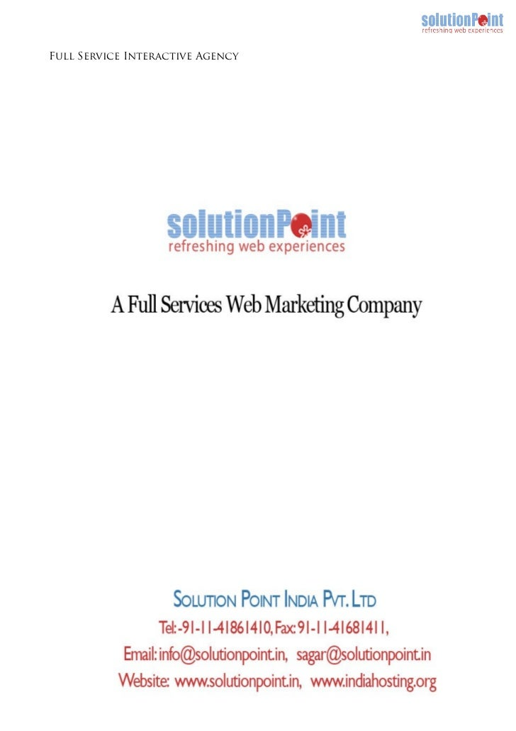 Full Service Interactive Agency