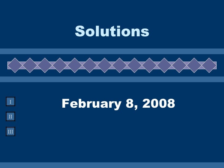 February 8, 2008 Solutions