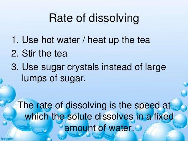 Dissolving Sugar in Tea Stir The Tea 3 Use Sugar