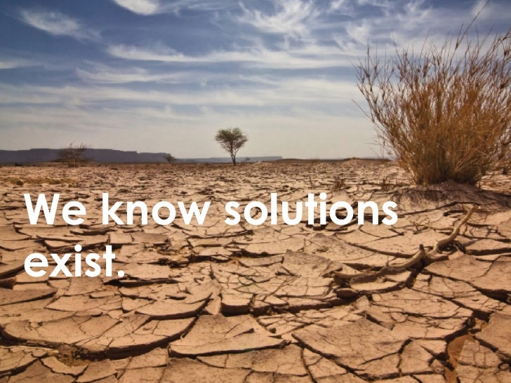 We know solutions exist.