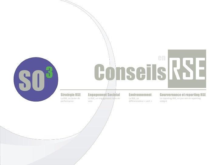 en                            ConseilsStratégie RSE          Engagement Sociétal              Environnement              G...