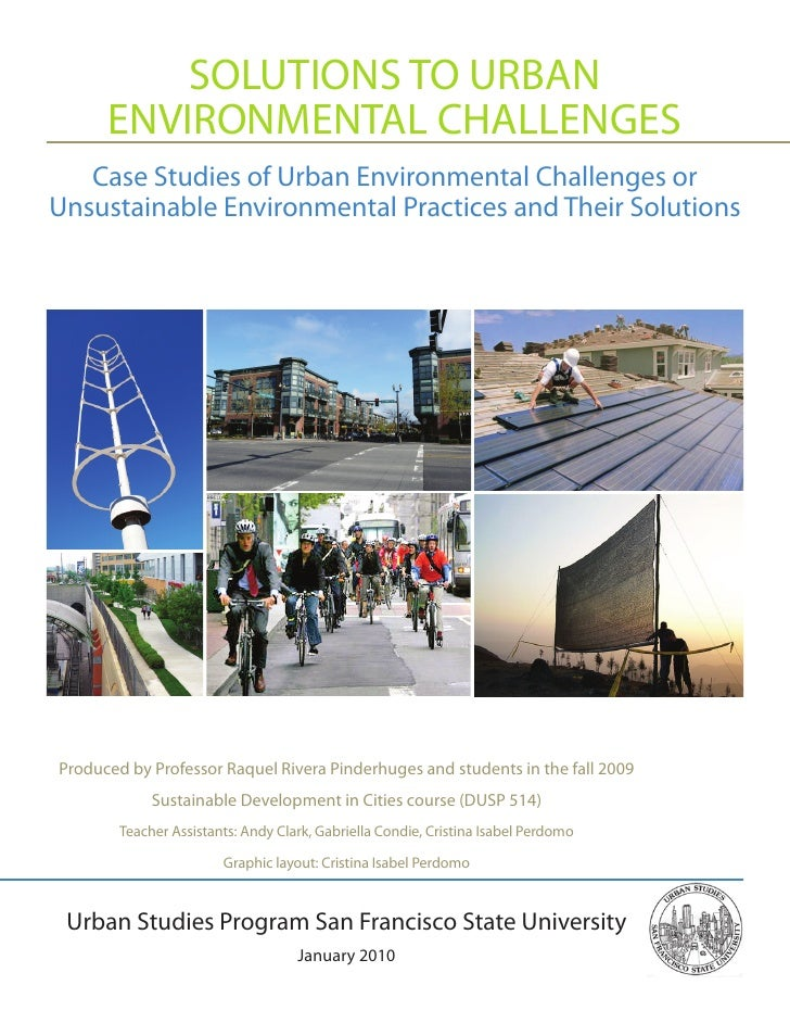 Solutions Urban Environmental Challenges