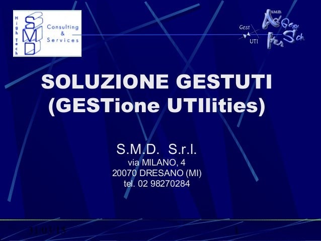 Gestione Reti Tecnologiche 2009