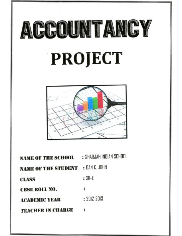 Solved Cash Flow Statements with Balance Sheet (Vertical) and Notes to Accounts Cbse Class 12 Accountancy Project