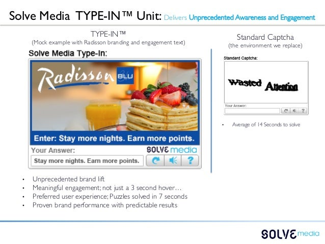 Solve Media TYPE-IN™ Unit: Delivers Unprecedented Awareness and Engagement                                TYPE-IN™      ...