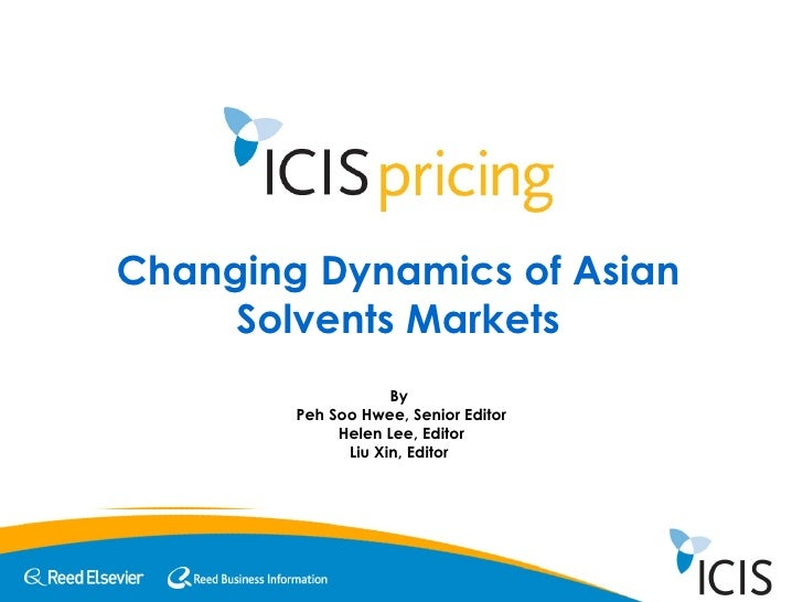 Changing Dynamics of Asian Solvents Markets