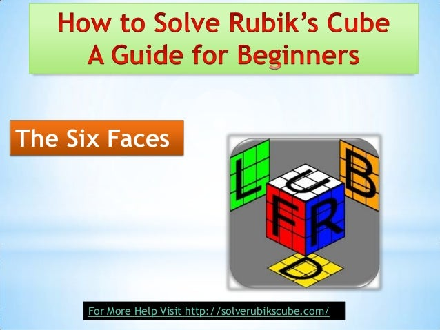 how to solve rebukis cube