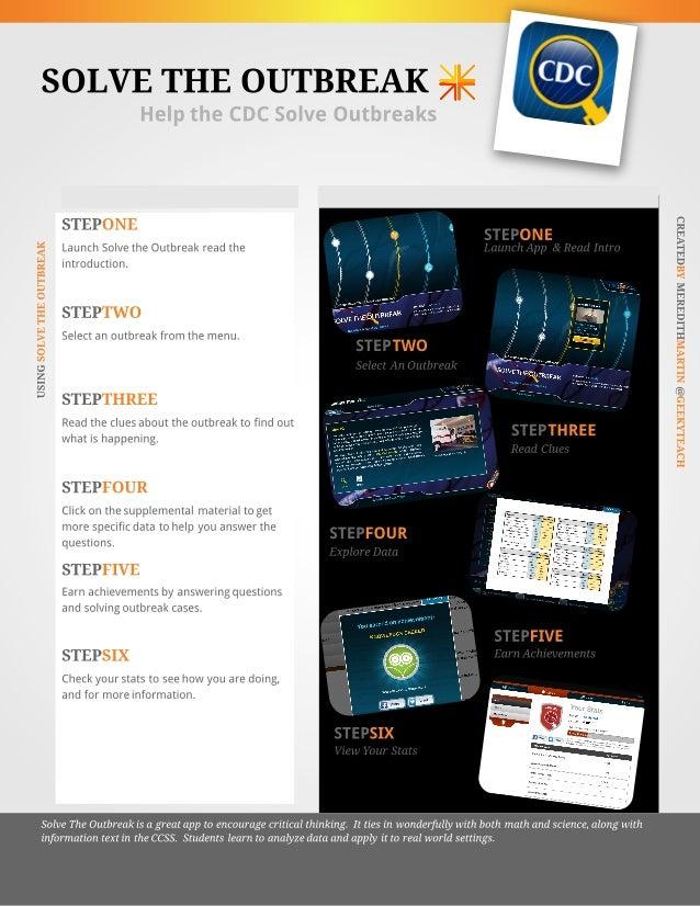 Solve The Outbreak App Tutorial
