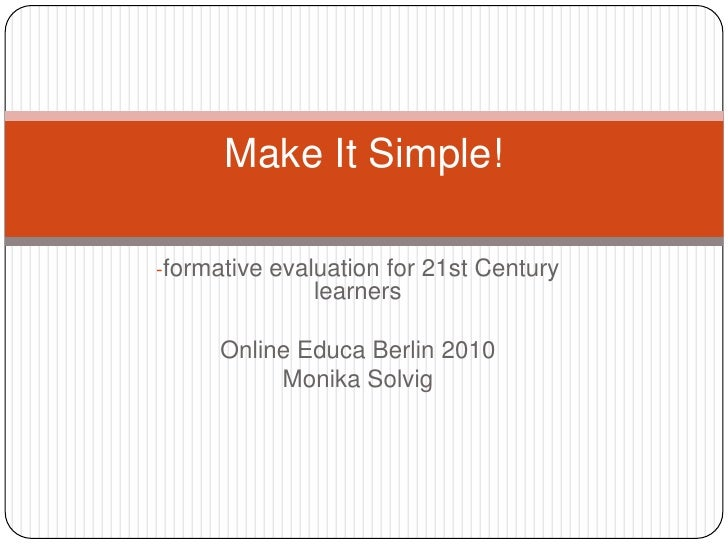Online Educa Berlin - Make IT Simple!