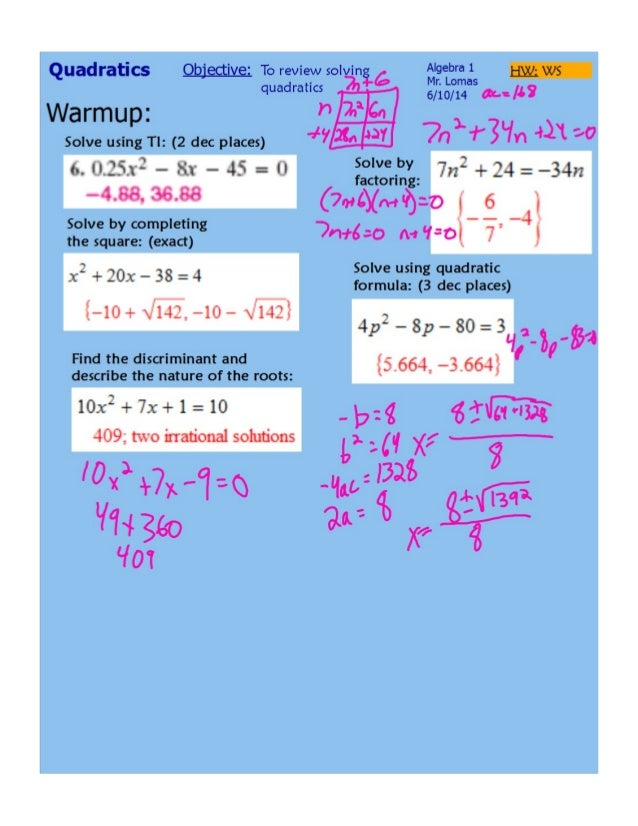 Solving Quadratics Review.pdf