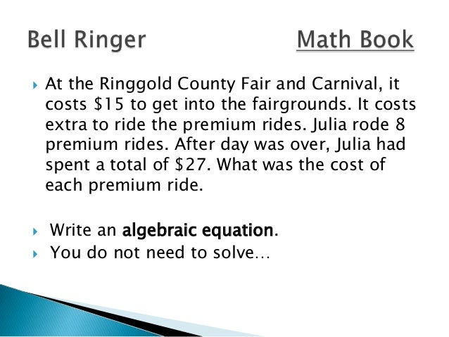      At the Ringgold County Fair and Carnival, it costs $15 to get into the fairgrounds. It costs extra to ride the pre...