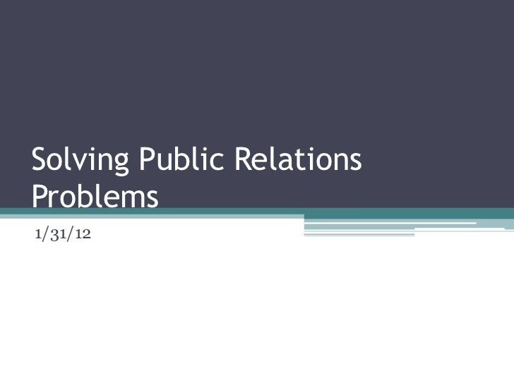 Ethical Issues Confronting Public Relations for Practitioners