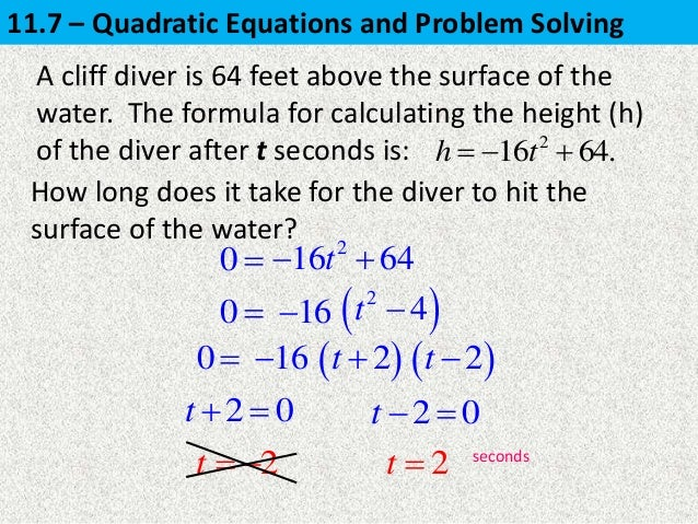 Equation And Problem Solving