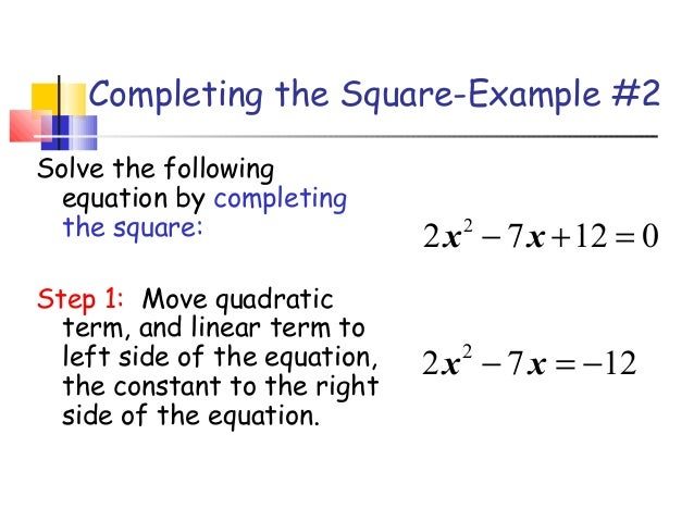 how to solve square one