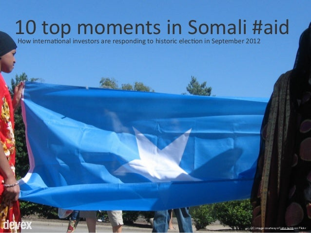 10 top moments in Somali aid