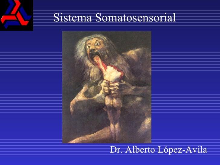 Sistema Somatosensorial Dr. Alberto López-Avila