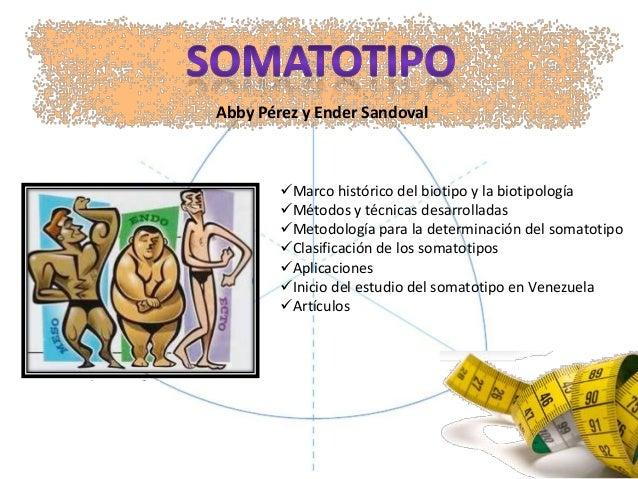 Marco histórico del biotipo y la biotipologíaMétodos y técnicas desarrolladasMetodología para la determinación del soma...
